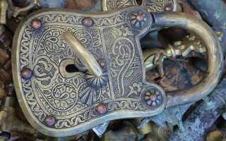 История развития замочного дела, обзор старинных и старых навесных замков