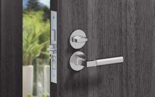 Устройство и виды врезных замков для металлических дверей — подбор, установка, ремонт