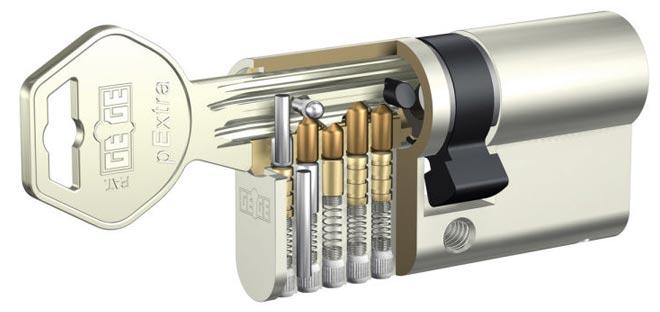 цилиндровый штифтовой механизм